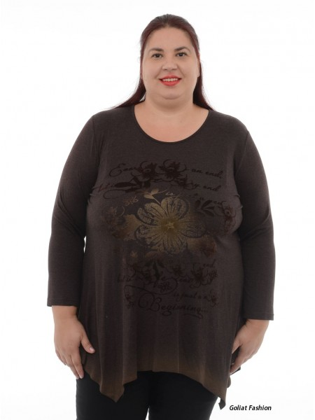 Bluza dama marime mare bluzaml6dgf