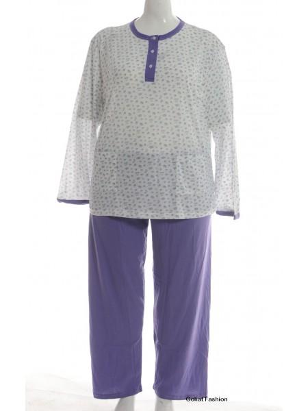 Pijama dama marime mare pijama1d